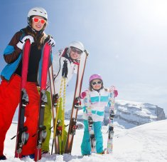 חופשות סקי בצל אם זה